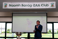 Naomh Barrog Training Wall Official Launch